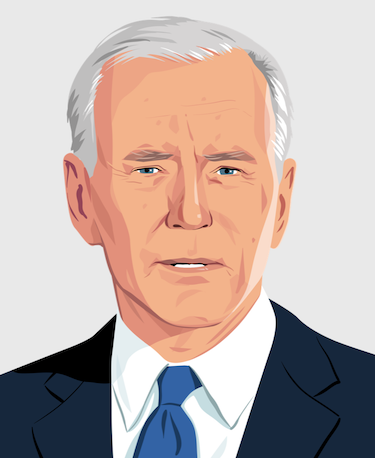 Joe Biden Illustration
