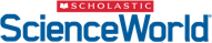 Scholastic Science World logo.