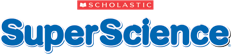 Scholastic SuperScience logo.