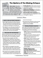 Scholastic News Lesson Plan sample.