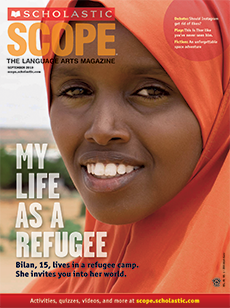 My Life As a Refugee Scholastic Scope Magazine.