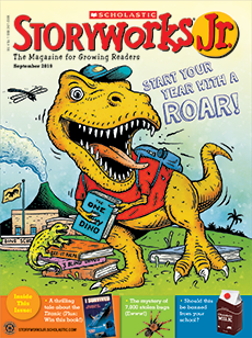 Start your Year with a Roar Storyworks Jr.