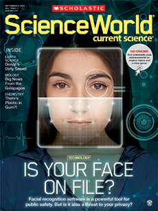 Is Your Face on File? Science World magazine.