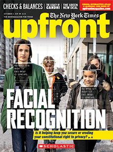 Facial Recognition Upfront magazine.